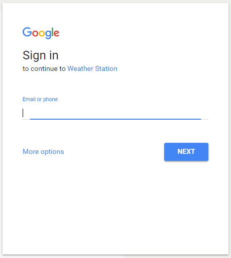 Google-sign-in-page