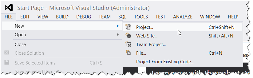 New SharePoint Project 2